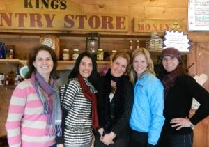 Core Team: Jen, Lauren, Kristina, Kristen & Hillary