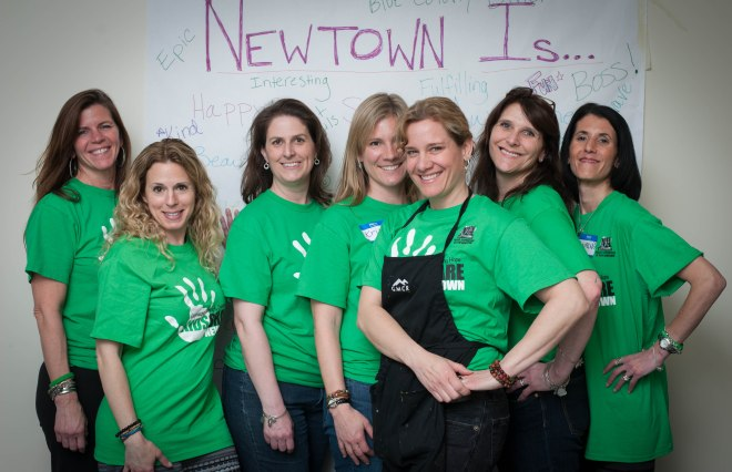 Kids Share Newtown Leaders